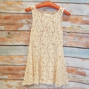 "NWOT BARELY WORN Free People ""Miles of Lace"" Dress"